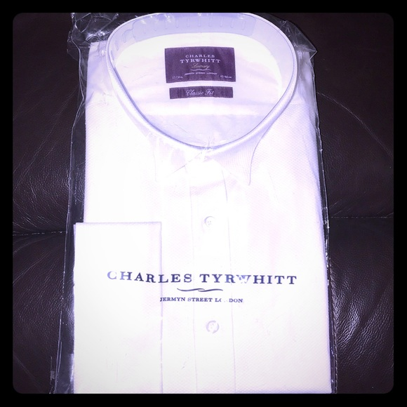 d0697104745f61 Charles Tyrwhitt Shirts | Classic Fit Luxury Marcella Bib Front ...